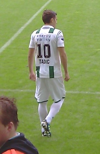 Dušan Tadić - Tadić playing for Groningen in 2011