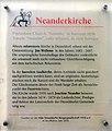 Tafel an der Neanderkirche Düsseldorf.jpg