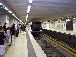 Algiers Metro - Tafourah - Grande Poste station