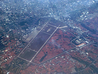 Taichung International Airport - Image: Taichung Airport Airfield color