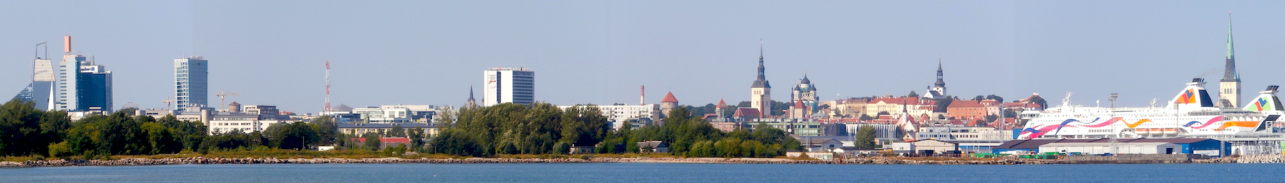 Old City seen from Pirita tee