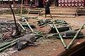 Tana Toraja, Salu funeral, offered pigs (6969300995).jpg
