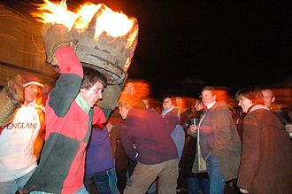 Ottery St Mary - Tar Barrels, 5 November 2005