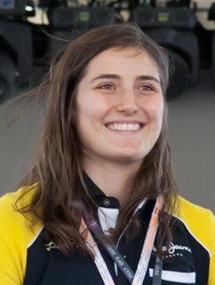 Tatiana Calderón Colombian race car driver