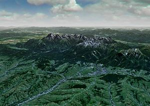 Tatra Mountains - Tatra - NASA World Wind (NLT Landsat Visible)