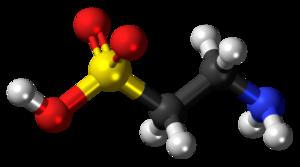 Taurine - Image: Taurine molecule ball