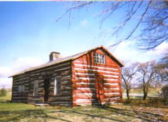 Cherry Springs State Park - The CCC built this replica of the Cherry Springs Hotel, the tavern built by Jonathan Edgcomb in 1818.
