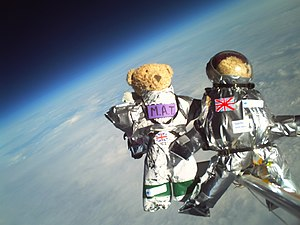 Teddy bears lifted to 30,085 metres above sea ...