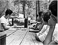 Teens in migrant camp Stanfield AZ (9400914433).jpg