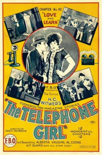"Film Booking Offices of America - Love and Learn (1924) was the tenth installment of The Telephone Girl, a series of shorts starring Alberta Vaughn. This was not a serial in the classic sense, as each ""chapter"" was a stand-alone tale."