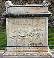 Tempio di vespasiano, ara con scena di sacrificio, età augustea 01.jpg