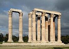 Il tempio di Zeus Olimpio ad Atene