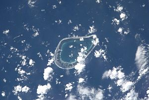 Tenarunga - NASA picture of Tenarunga Atoll