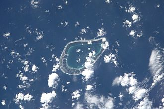 Tenarunga - NASA picture of Tenarunga Atoll