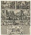 Terechtstelling van de samenzweerders tegen Maurits, 1623 Iustitie over enige Arminiaensche verraders, geschiet in s'Gravenhaech (titel op object), RP-P-OB-81.021A.jpg