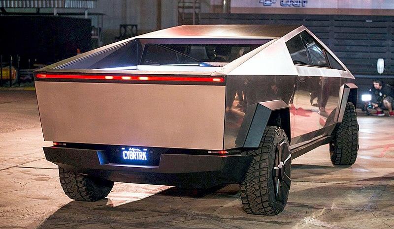 File:Tesla Cybertruck unveiling.jpg