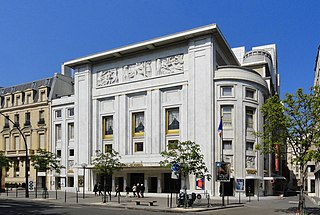Théâtre des Champs-Élysées theatre and concert venue at 15 avenue Montaigne in Paris, france
