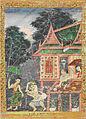 Thai - Vessantara Jataka, Chapter 5 - The Brahmin Jujaka with His Wife Amittatapana - Walters 20101220.jpg