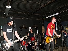 The Flatliners op een concert in 2007