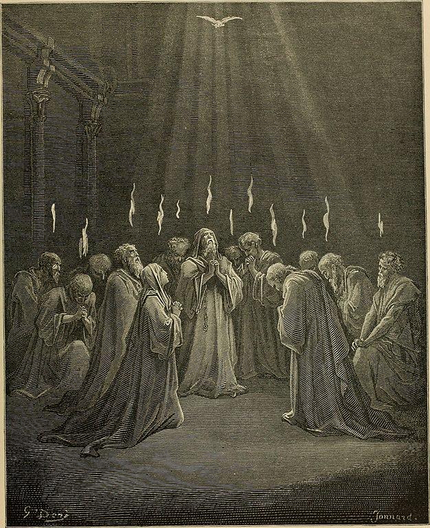 성령 강림 (귀스타브 도레, Gustave Dore, 1866년)