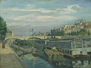 The Louis-Philippe Bridge in Paris