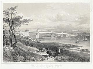 The Britannia Tubular Bridge