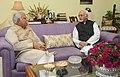 The Chief Minister of Haryana, Shri Manohar Lal Khattar calls on the Vice President, Shri Mohd. Hamid Ansari, in New Delhi on November 10, 2014.jpg
