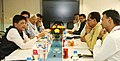 The Chief Minister of Madhya Pradesh, Shri Shivraj Singh Chouhan meeting the Minister of State (Independent Charge) for Power, Coal and New and Renewable Energy, Shri Piyush Goyal, in New Delhi on October 15, 2015 (1).jpg