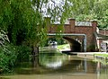 The Coventry Canal at Bridge No 71, Amington, Staffordshire - geograph.org.uk - 1159265.jpg