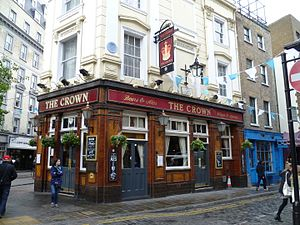 The Crown, Covent Garden - The Crown, Monmouth Street, Covent Garden (2015)