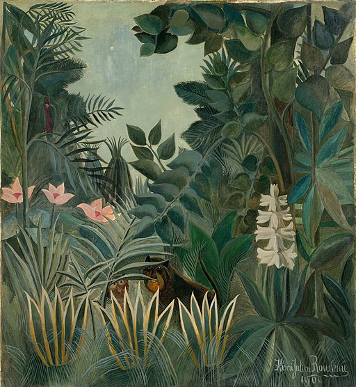 """The Equatorial Jungle"" by Henri Rousseau"