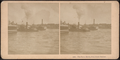 The Ferry Boats, New York Harbor, from Robert N. Dennis collection of stereoscopic views.png