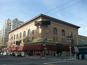 Fillmore District, San Francisco - The Fillmore Auditorium on Fillmore and Geary