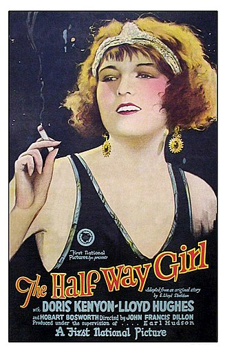 The Half-Way Girl - Lobby poster