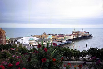 Hastings Pier - In 1966 the Hastings Embroidery was displayed in the white domed structure for the 900th anniversary celebrations of the Battle of Hastings.