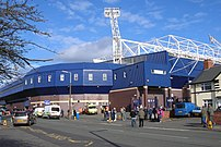The exterior of The Hawthorns, home of West Br...