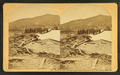 The House that was destroyed, Great Avalanche, from Owl's Head, Jefferson, from Robert N. Dennis collection of stereoscopic views.png