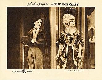 The Idle Class - Lobby card