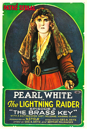 The Lightning Raider - Film poster