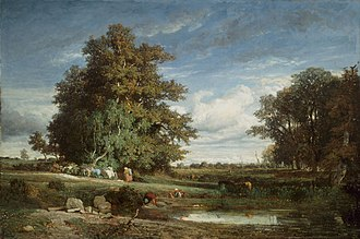 Constant Troyon - Image: The Marsh by Constant Troyon