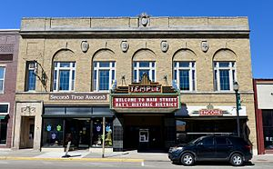 National Register of Historic Places listings in Vernon County, Wisconsin - Image: The Masonic Temple Building
