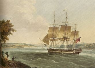 History of Australia (1788–1850) - Ships importing resources from India played a vital role in establishing Sydney.