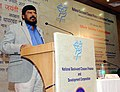 """The Minister of State for Social Justice & Empowerment, Shri Ramdas Athawale addressing at the """"Silver Jubilee Celebration"""" of the National Backward Classes Finance & Development Corporation, in New Delhi on January 13, 2017.jpg"""