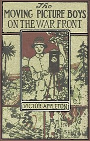 Cover of The Moving Picture Boys on the War Front