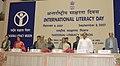 The President, Smt. Pratibha Devisingh Patil at the National Celebration of International Literacy Day, in New Delhi on September 08, 2007.jpg