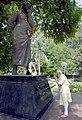 The Prime Minister, Shri Narendra Modi paying tributes to the great Chandra Shekhar Azad, during his visit to Chandra Shekhar Azad Park, in Allahabad, Uttar Pradesh on June 13, 2016 (1).jpg