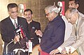 The Prime Minister Shri Atal Bihari Vajpayee at the inaugural session of the 'India Today Conclave - 2004' in New Delhi on March 12, 2004.jpg