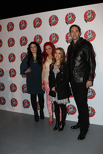 The Voice (Australia season 1) - The final four contestants: Karise Eden, Sarah De Bono, Rachael Leahcar, and Darren Percival.