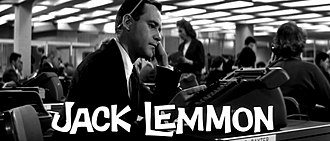 The Apartment - Jack Lemmon in a still from the film's trailer. The Apartment marked his second collaboration with Billy Wilder after Some Like It Hot.