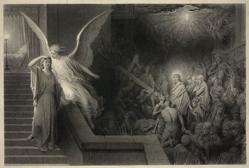File:The dream of Pilate's wife by Alphonse François.jpg